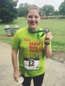 Congratulations to my online client Jessica for completing her marathon in Georgia!